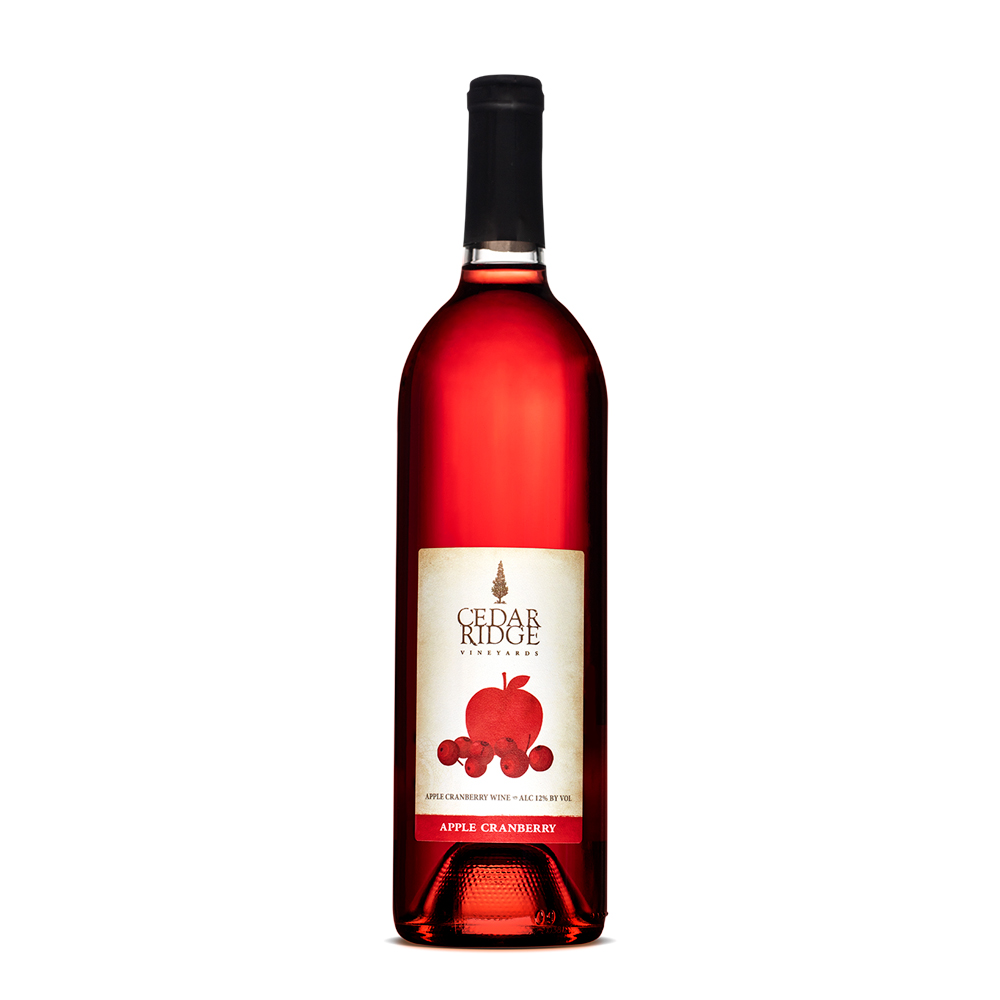 Cedar Ridge Apple Cranberry wine