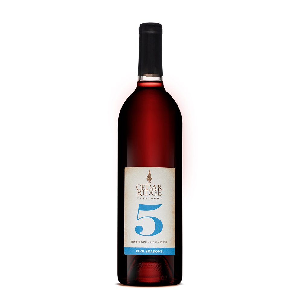 Cedar Ridge Five Seasons wine
