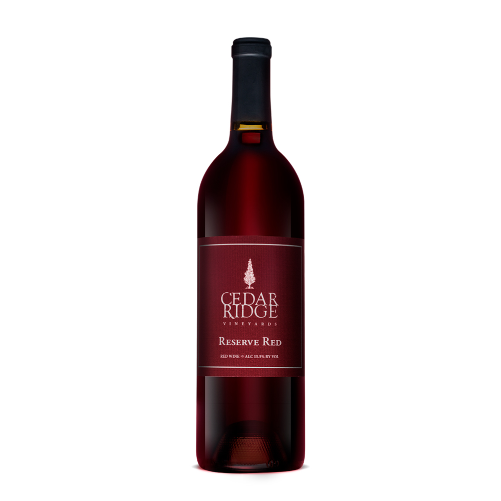 Cedar Ridge Reserve Red wine