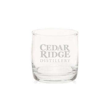 Cedar Ridge rocks glass