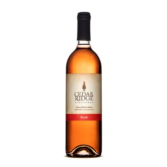 Cedar Ridge Rose wine