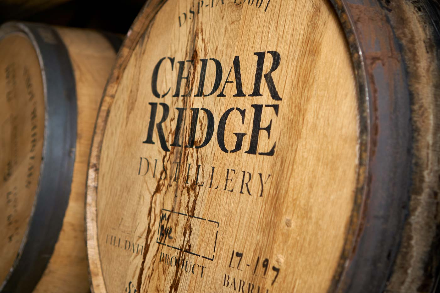 Cedar Ridge barrel