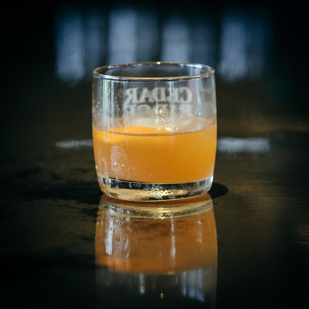 Salted Caramel Old Fashioned cocktail
