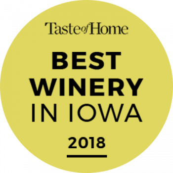 Best Winery in Iowa Award