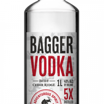 Cedar Ridge Bagger Vodka