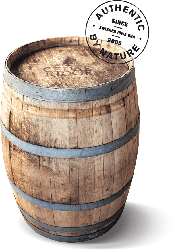 Cedar Ridge Wine barrel