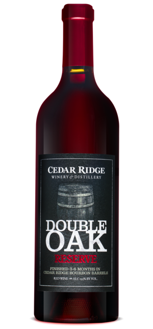 Double Oak Cedar Ridge wine